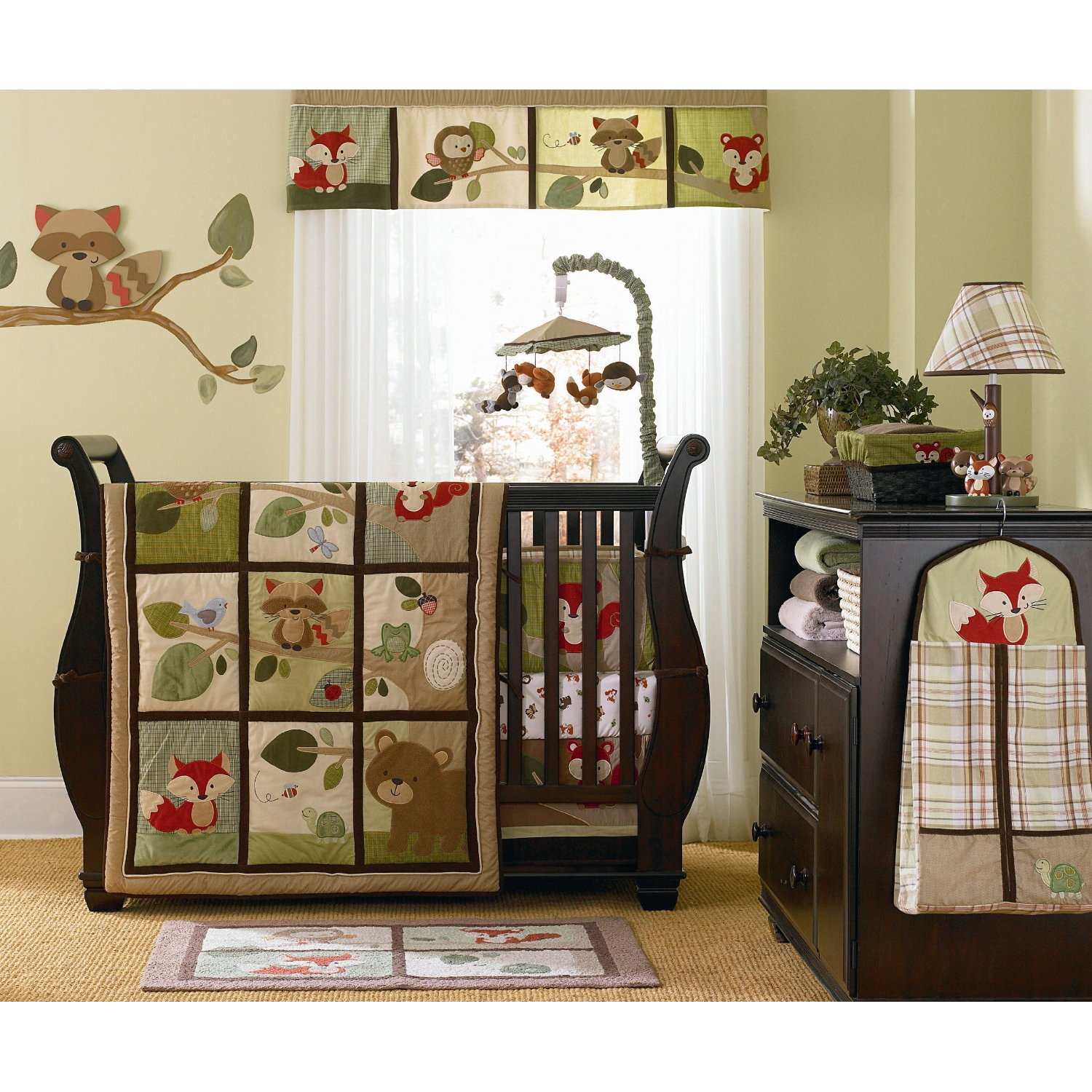 Alphadorable Carter S Tree Tops Crib Bedding