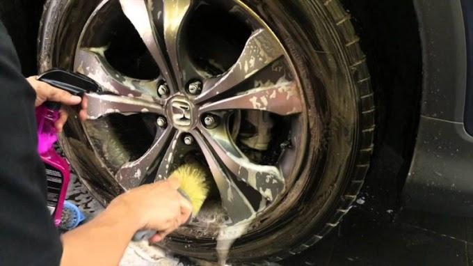Cách làm mới lazang ô tô – Sạch như mới sau 20 phút