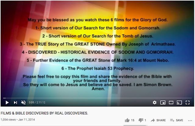 FILMS & BIBLE DISCOVERIES BY REAL DISCOVERIES.