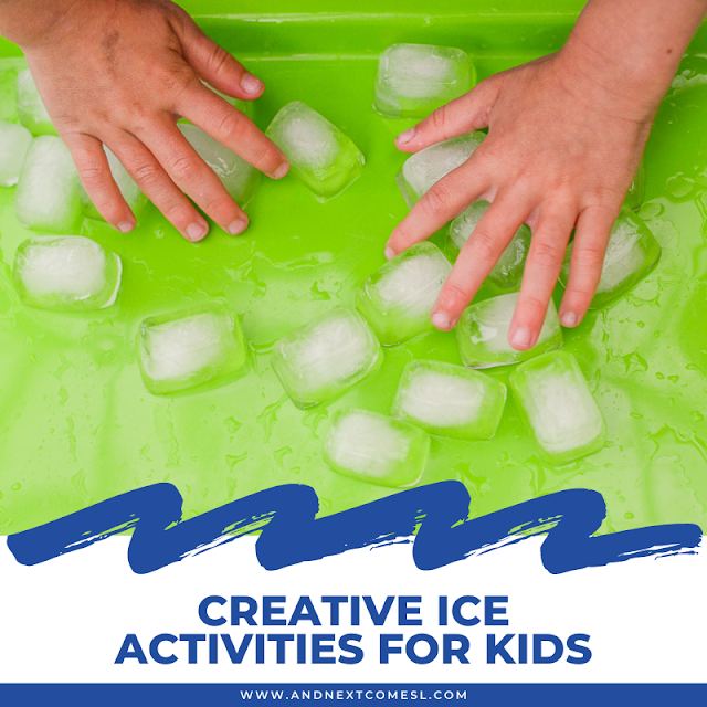 Fun ice activities for kids to try this summer