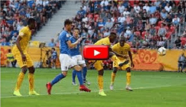 بث مباشر مبارة ايطاليا واوكرانيا قبل نهائي كأس العالم للشباب