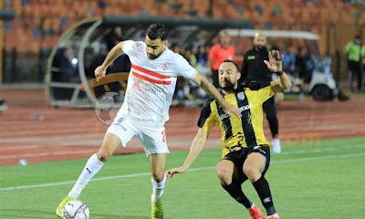 ملخص اهداف مباراة الزمالك والمقاولون العرب (2-2) الدوري المصري