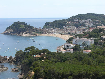 Beach of Tossa de Mar