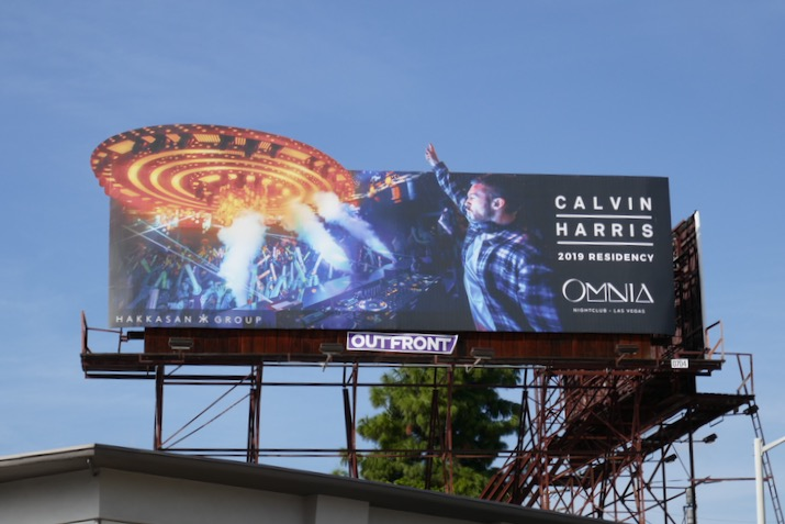 Calvin Harris Omnia 2019 billboard