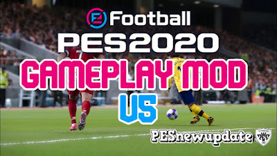 PES 2020 Gameplay Mod V5 by Gabe.Paul.Logan