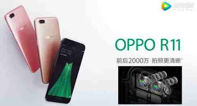 OPPO R11 harga dan spesifikasi