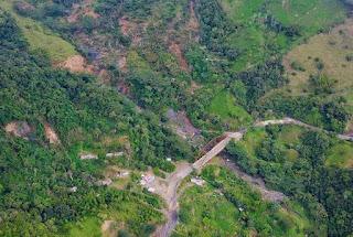 Fondo Adaptación atribuye a deslizamientos el daño en el puente de la vía Otanche - Chiquinquirá