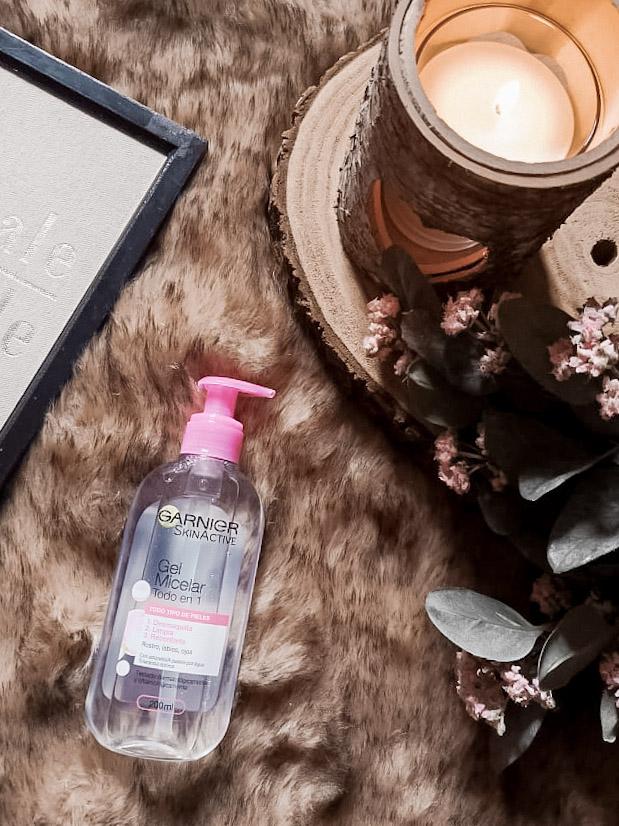 Gel limpiador Skin Naturals de Garnier