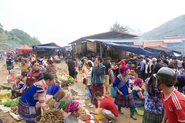The Largest Buffalo Market Fair in the Northwestern of Vietnam