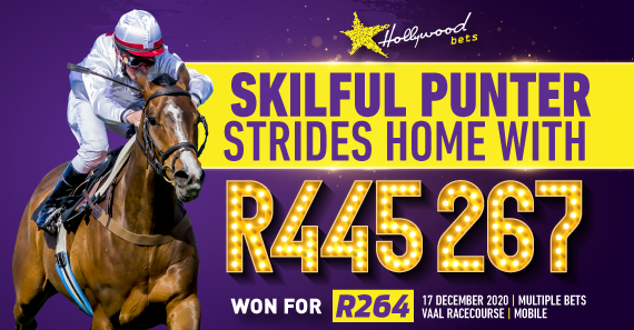 Skilful Punter Strides Home with R445 267