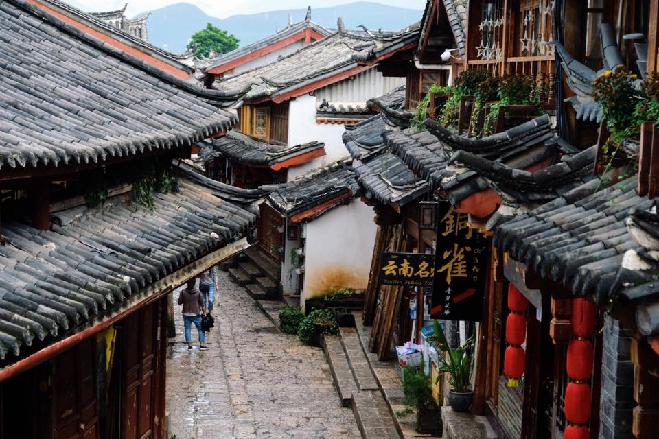 Old Town of Lijiang : A UNESCO Heritage Site