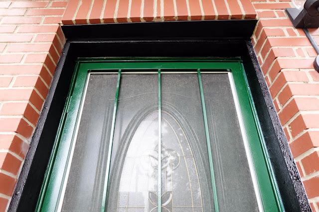 plastic door frame trim molding redone