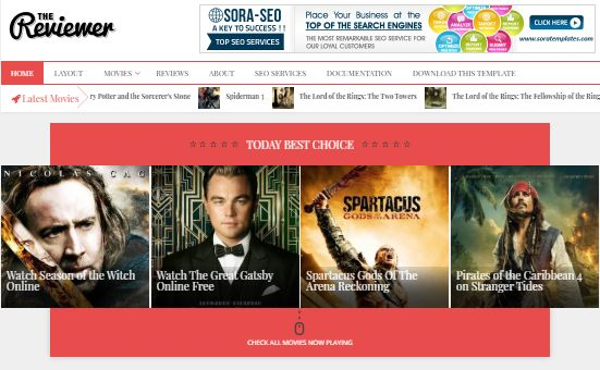 The Reviewer Premium Blogger Themes    Responsive Blogger Templates    Seo Friendly Templates