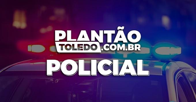 """Homem é encaminhado com 3 """"pontas"""" de maconha em Toledo"""