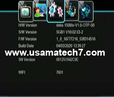 1506tv SGB1 New Software