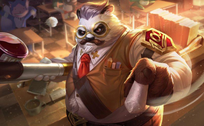Hướng dẫn cách chơi Zuka mùa 10 - Cách lên đồ Đại Sư Gấu Mèo cân team