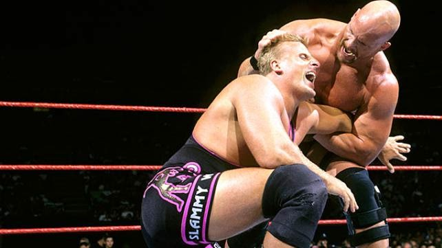 WWF / WWE - Survivor Series 1997 - Steve Austin beat Owen Hart for the WWE Intercontinental Championship