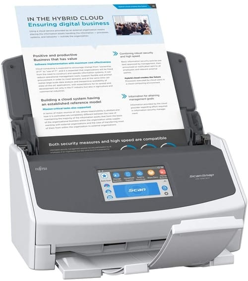 Review Fujitsu ScanSnap iX1500 Document Scanner