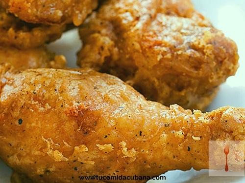 ©️ Cómo hacer pollo frito