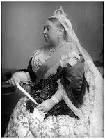 Retrato de la Reina Victoria en 1882