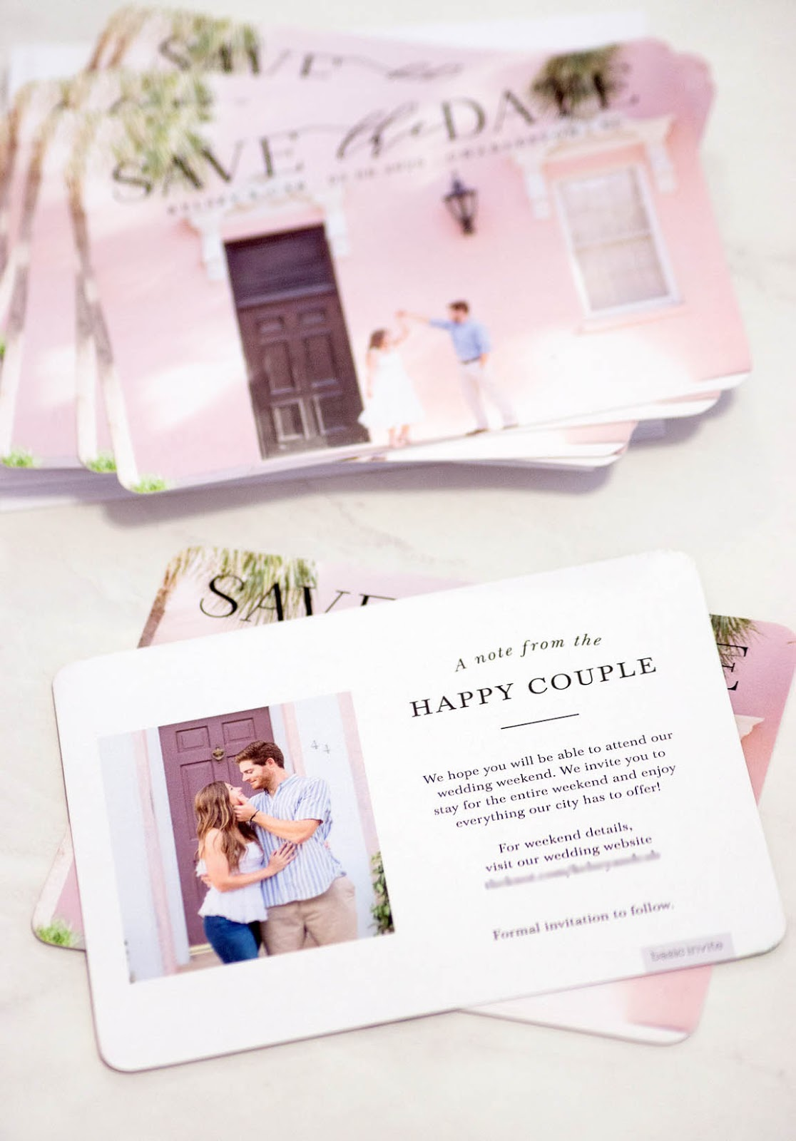 The Dos and Don'ts of Save The Dates - Chasing Cinderella