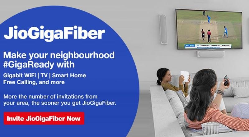 Jio GigaFiber Customer Care & Helpline Number and E-Mail Address