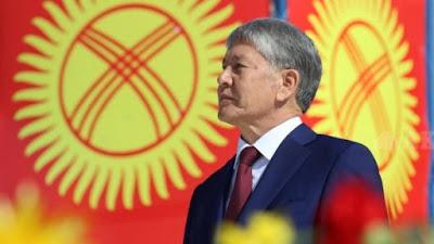 President ofKyrgyzstan Almazbek Atambayev.