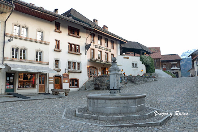 Rue du Burg, Gruyeres fuente
