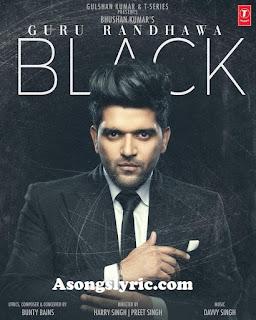 Black - Guru Randhawa Song Lyrics Mp3 Audio & Video Download