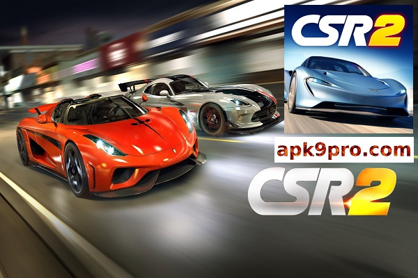 CSR Racing 2 2.8.1 Apk + Mod + Data (File size 1.86 GB) for android