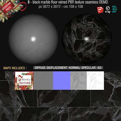 black marble floor veined texture seamless high resolution