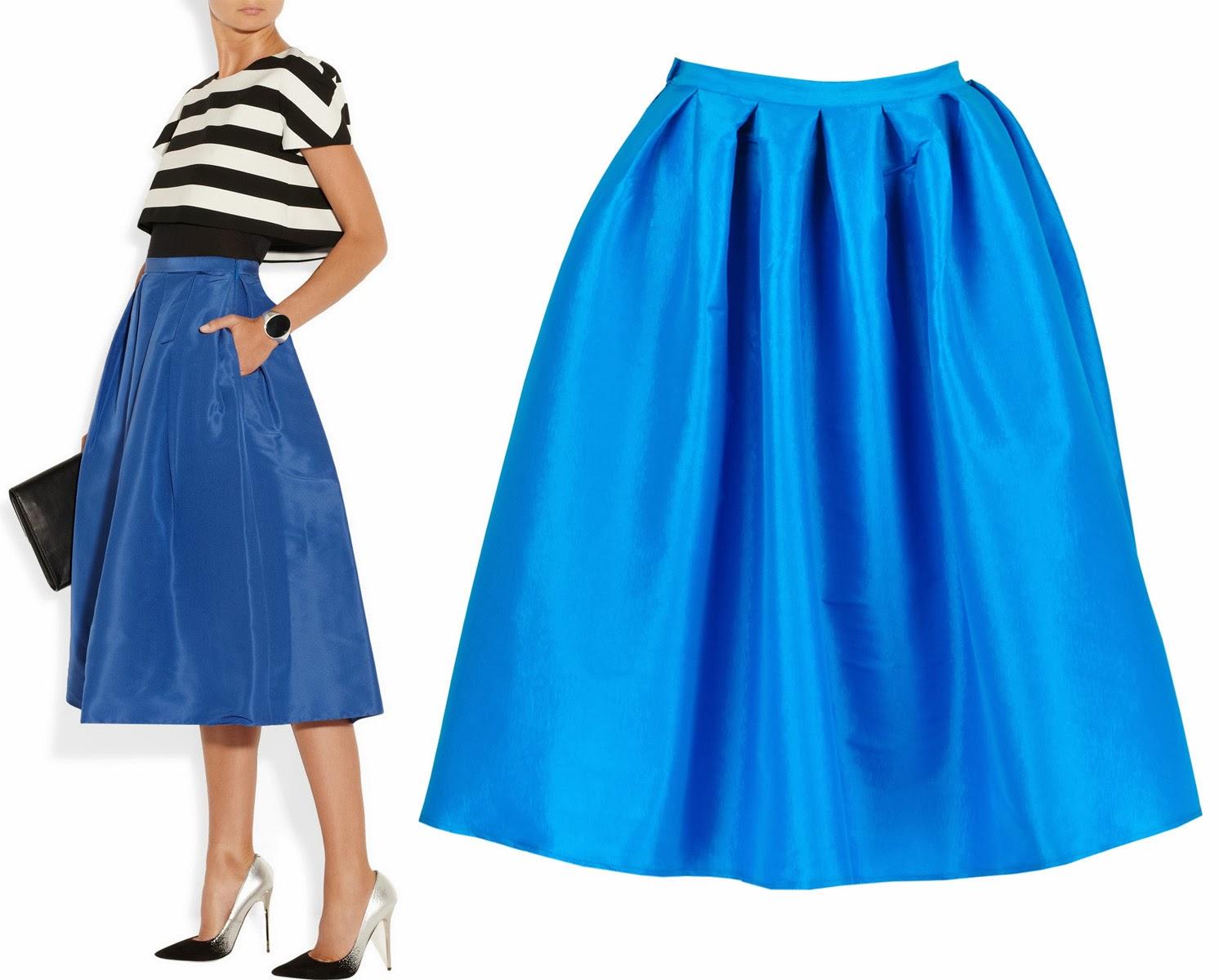 Blue Full Skirt 50