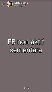 Alasan Menonaktifkan Facebook Sementara Waktu