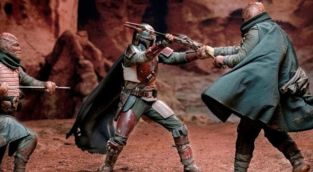 Tráiler final de 'The Mandalorian', la serie de ficción real de Disney+ sobre Star Wars