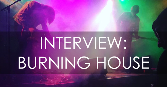 Your Resource For All Things Shoegaze And Dream Pop: INTERVIEW: Aaron Mills  Of Burning House.