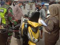 TNI-POLRI SAMARINDA SEBERANG GUGAH KESADARAN WARGA PENTINGNYA PROKES MELALUI YUSTISI