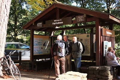 Photo of the information hut at the visitor centre