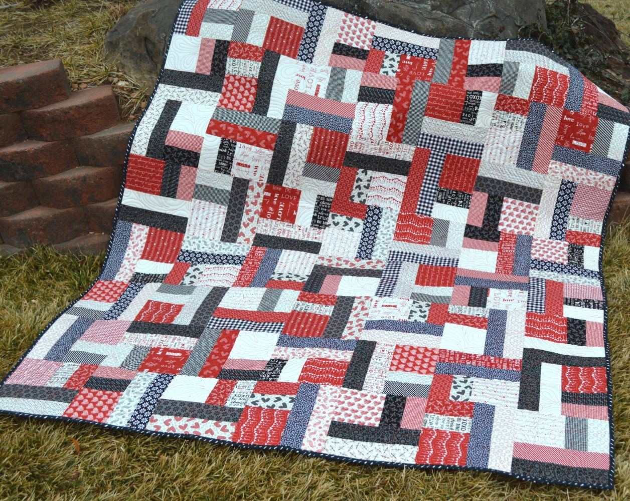 Happy Quilting: Jelly Roll Twist : quilts from jelly rolls - Adamdwight.com