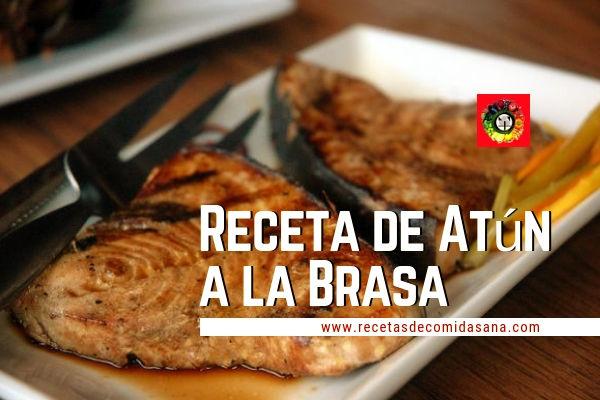 Receta de Atún a la Brasa de recetas sana de comida sana