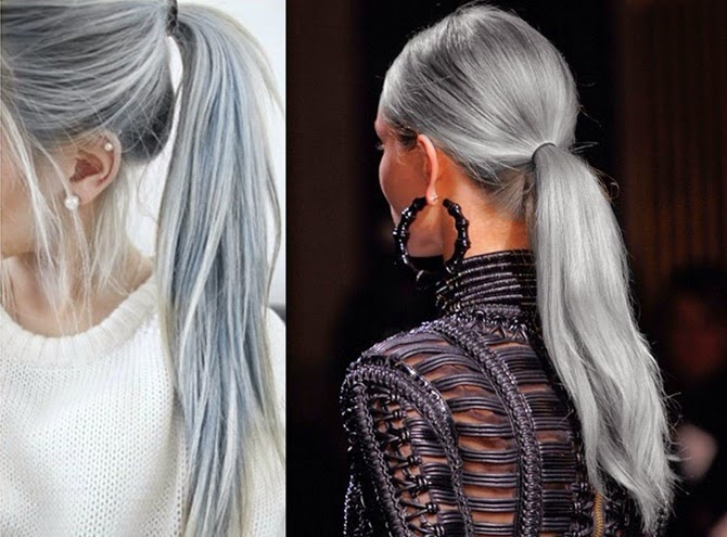 Como deixar o cabelo loiro acinzentado