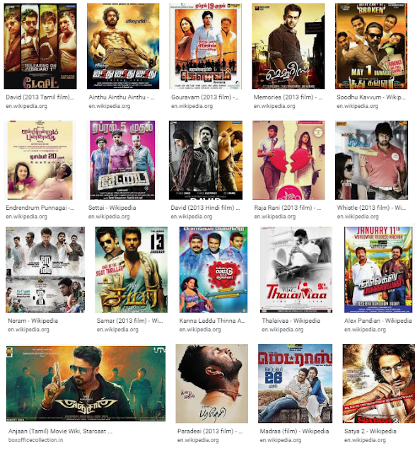 2013 Tamil Hit And Flop Movie List