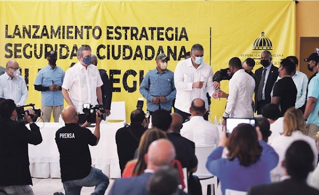 """Comienza el desarme voluntario del plan """"Mi País Seguro"""""""