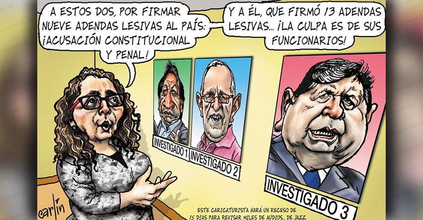 Carlincaturas Domingo 2 Septiembre 2018 - La República