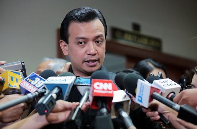 WATCH Trillanes hits Duterte |  itong si duterte ang adik, nakita nyong mag salita, ganyang magsalita ang adik
