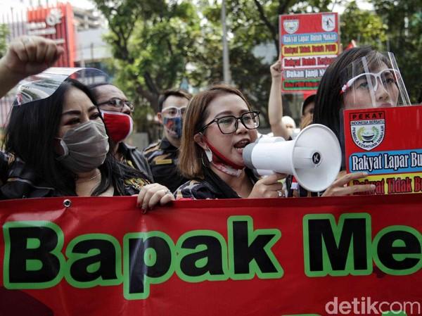 Demo Annisa Bahar Dkk Berujung Bubar Gegara Protokol Dilanggar