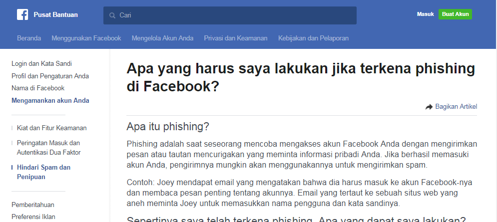 CARA MENGEMBALIKAN FB YG DI HACK