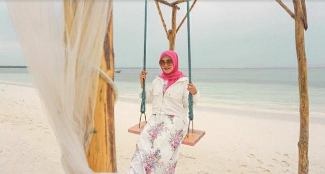 Widya Murad Ismail Promosi Pantai Ngurbloat di Maluku Tenggara