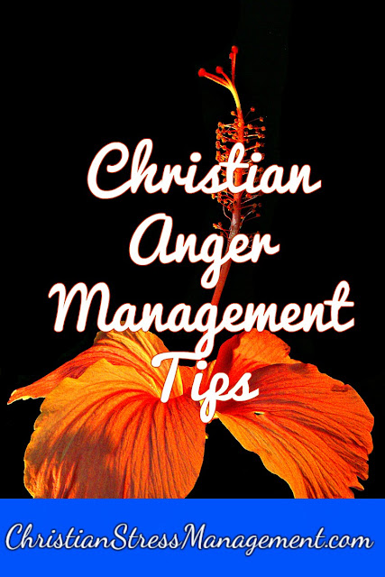 Christian anger management tips