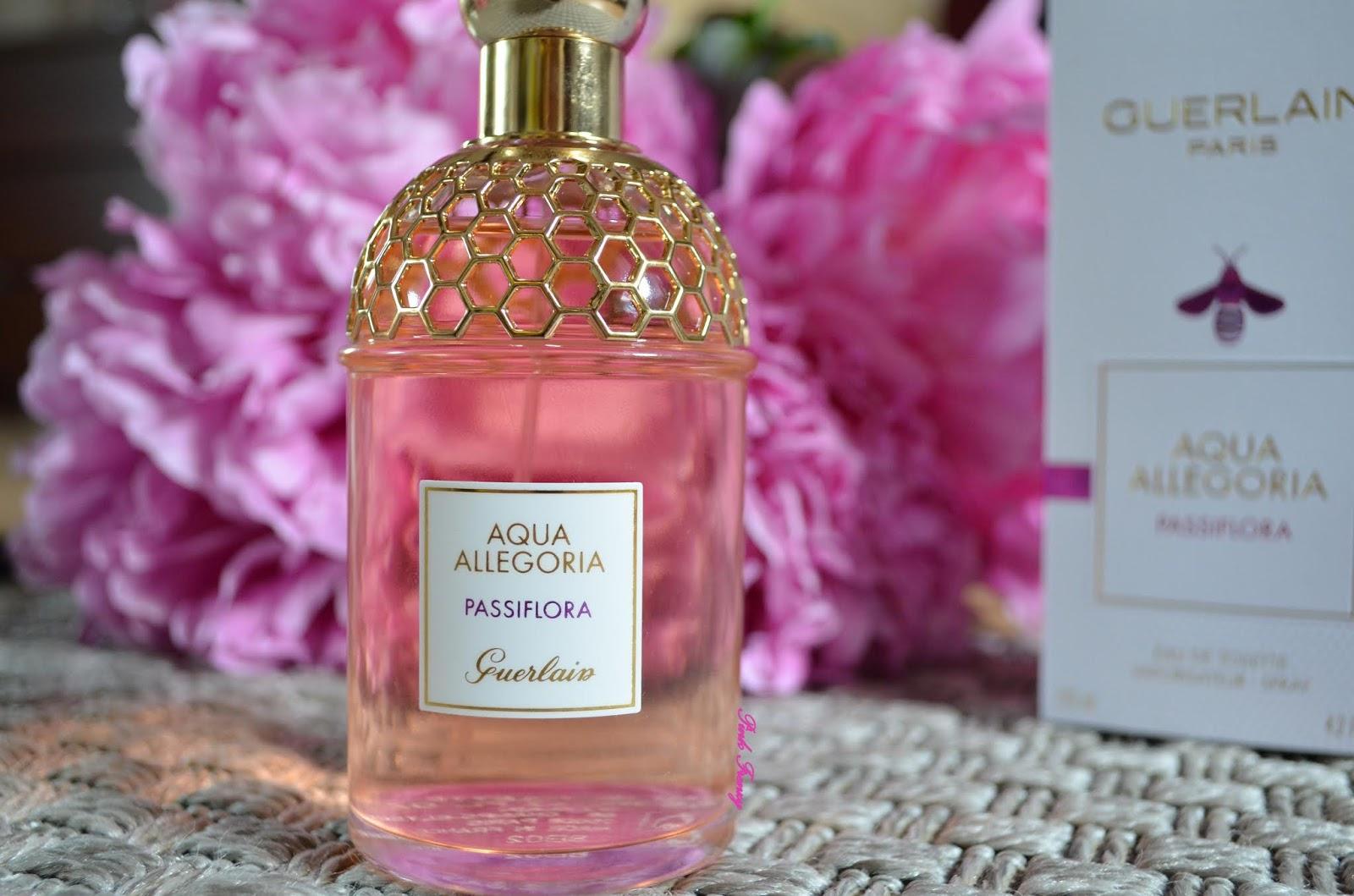 Review Guerlain Aqua Allegoria Passiflora Eau De Toilette Pink