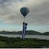 """""""Συγκλονιστική έπαρση της μεγαλύτερης Ελληνικής σημαίας στον κόσμο από αερόστατο στη Λίμνη Πλαστήρα!""""(βίντεο)"""
